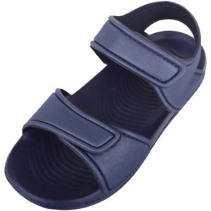 Summer Sandals with Ripper Fastening - Navy