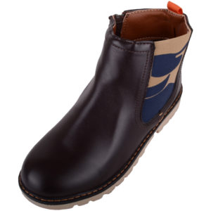 Casual Chelsea Ankle Boots - Brown