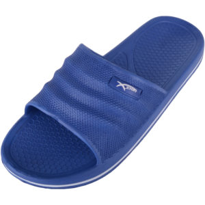 Slip On Summer Holiday Flip Flops - Navy
