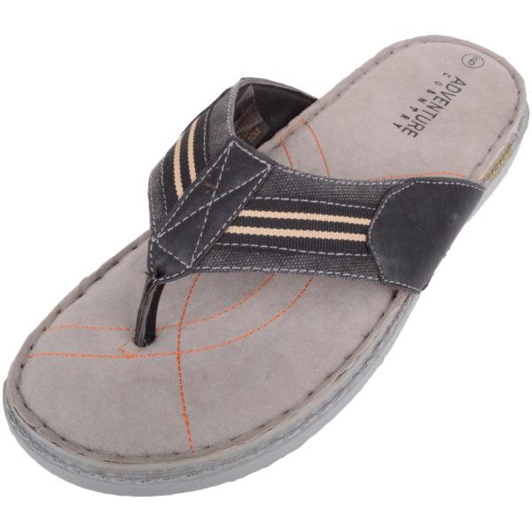 Lightweight Summer Flip Flops - Black