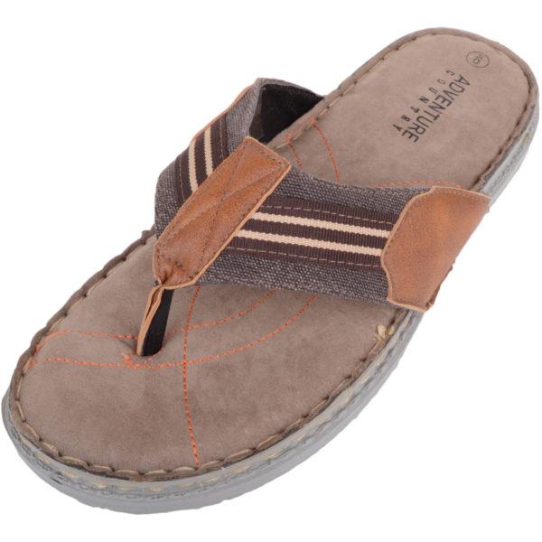 Lightweight Summer Flip Flops - Tan