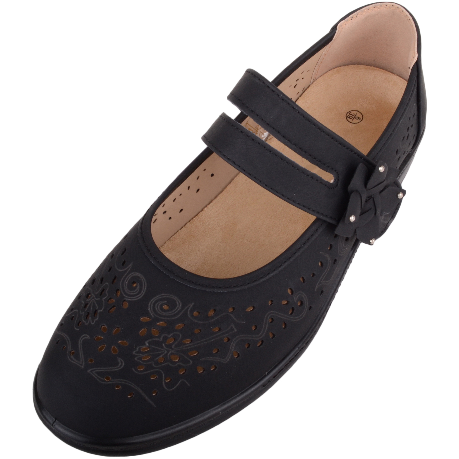 Ladies Comfort Casual Wide Fit Shoes