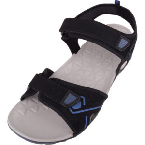 BBeach Sandals with Touch Fastening - Black