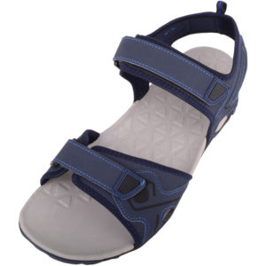Beach Sandals with Touch Fastening - Navy
