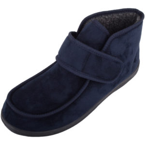 Men's Microsuede EE Wide Fitting Slippers