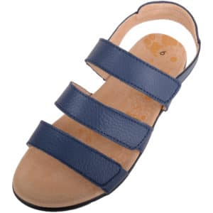 Ladies Casual Leather Wide Fitting Summer Sandal / Shoes