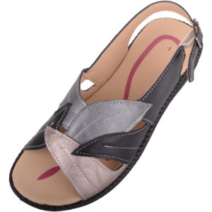 Ladies Low Wedge Summer Sandal / Shoes