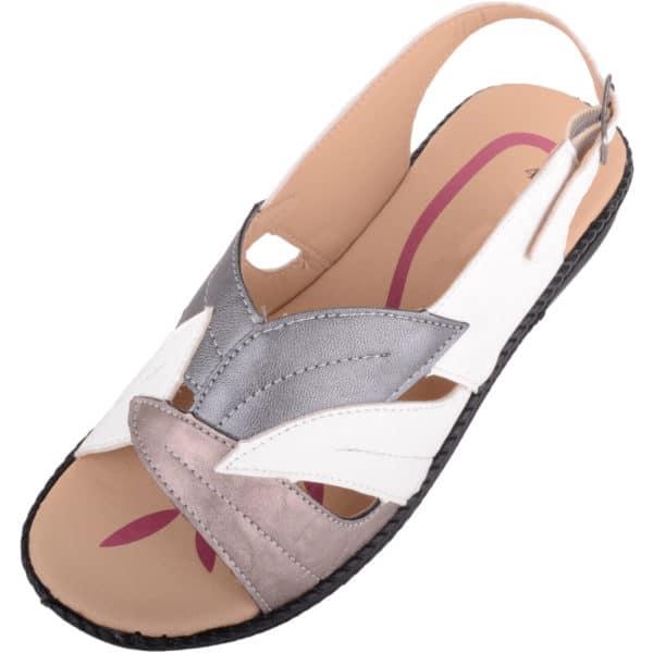 Ladies Low Wedge Summer Sandal / Shoes