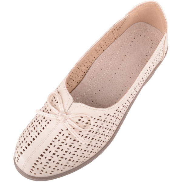 Women's Lightweight Slip On Heeled Shoes