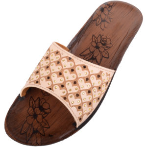 Ladies Light Weight Beach Slip On Sandals / Shoes