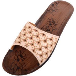 Ladies Light Weight Beach Slip On Sandals / Shoes