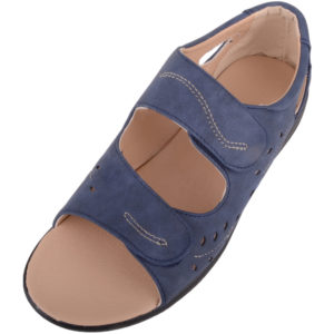 Ladies Wide Fitting Casual Summer Sandals / Shoes