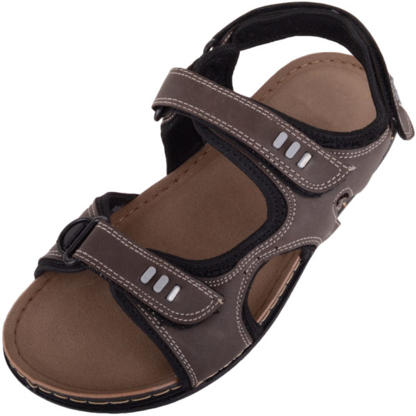 Men's Summer Sandals with Ripper Fastening