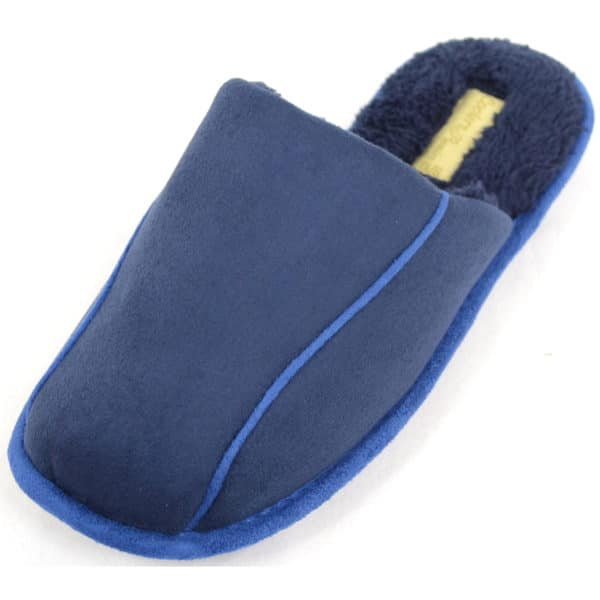 Men's Slip On Soft Fleeced Lined Warm Slippers / Mules