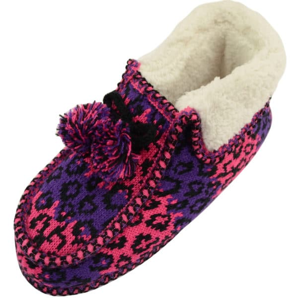Women's Knitted Style Booties / Slippers