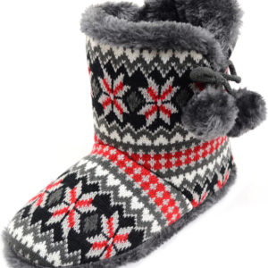 Women's Knitted Style Boots / Bootie Slippers