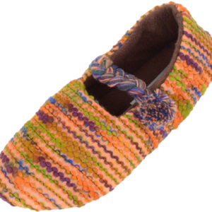 Women's Slip On Slippers with Warm Polar Fleece Inners