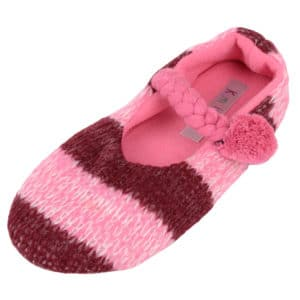 Women's Slip On Slippers with Warm Polar Fleece Inners