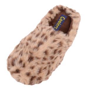 Women's Slip On Slippers / Mules with Animal Print Design