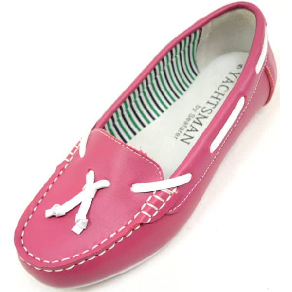 Women's 100% Leather Casual / Formal Slip On Boat Shoes