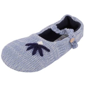 Women's Slip On Slippers / Pumps with Attractive Flower Detail