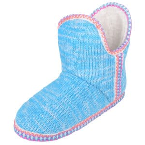 Women's Slip On Slippers / Boots with Warm Faux Fur Inners