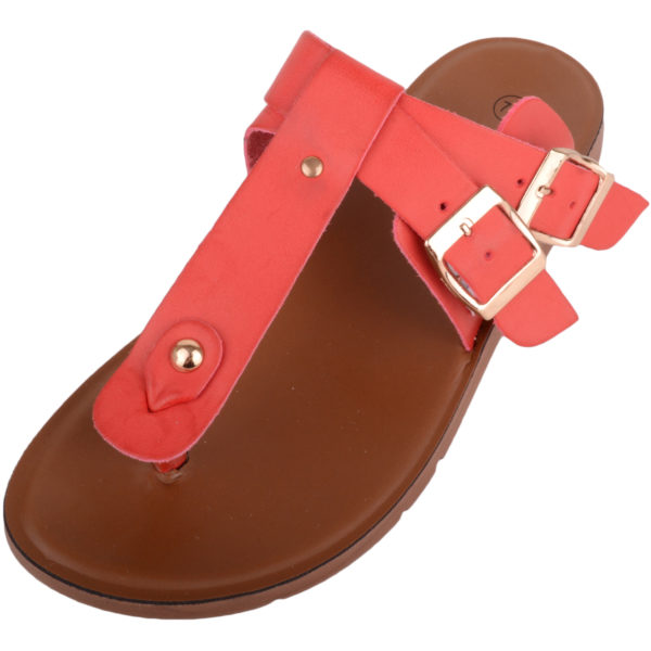 Women's Slip On Toe Post Summer Sandal