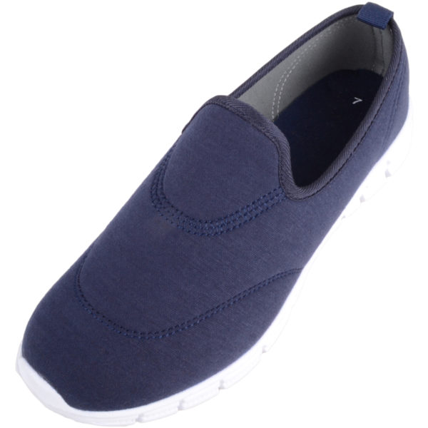 Women's Lightweight Slip On Trainers with Memory Foam Inner